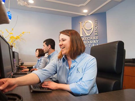 K-9 Resorts Franchise Front Desk