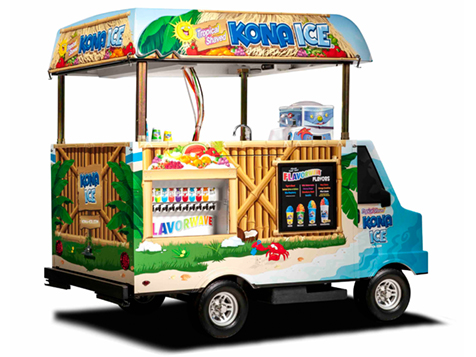 Kona Ice Franchise is a huge success