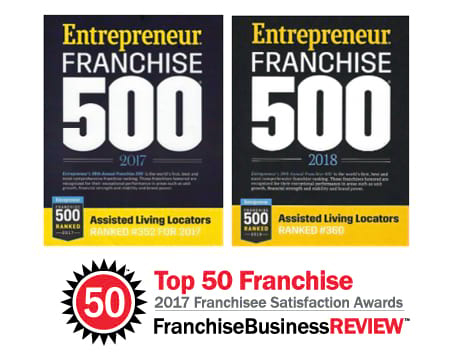 Assisted Living Locators Franchise Ranking