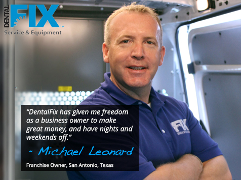 Dental Fix RX franchise owner Michael Leonard