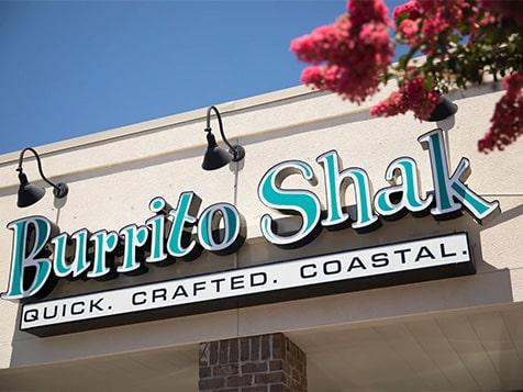 Burrito Shak Franchise Signage