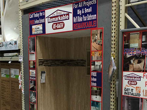 Re-Bath Bathroom Remodeling Franchise Home Depot partnership
