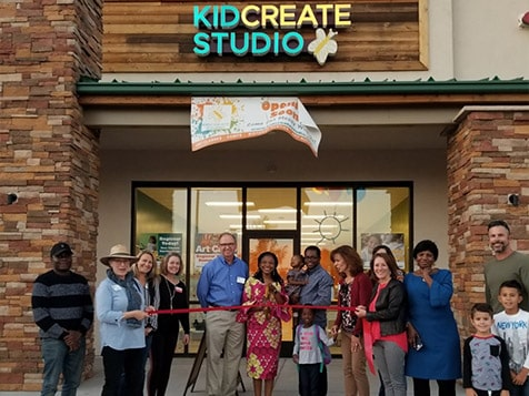 Kidcreate Studio Franchise Grand Opening