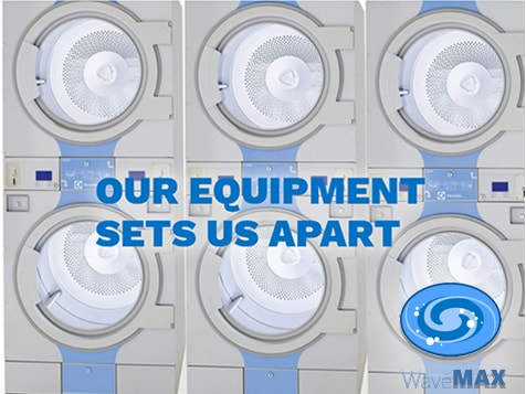 WaveMAX Laundry Franchise Superior Equipment
