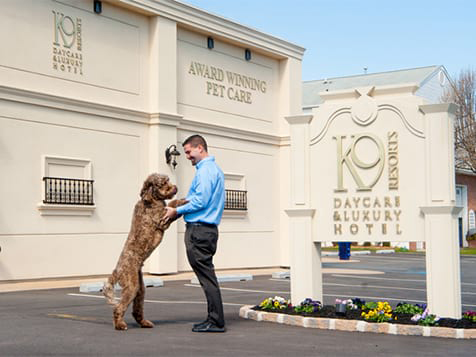 Outside a K-9 Resorts Franchise Locationo