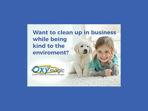 Oxymagic Carpet Cleaning Franchise