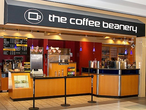 Coffee Beanery in a Mall