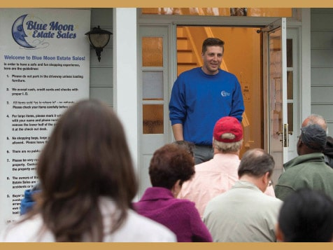 Become a Blue Moon Estate Sales Franchisee