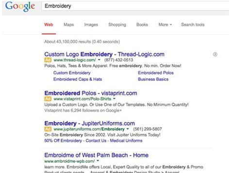 EmbroidMe franchise Internet advertising