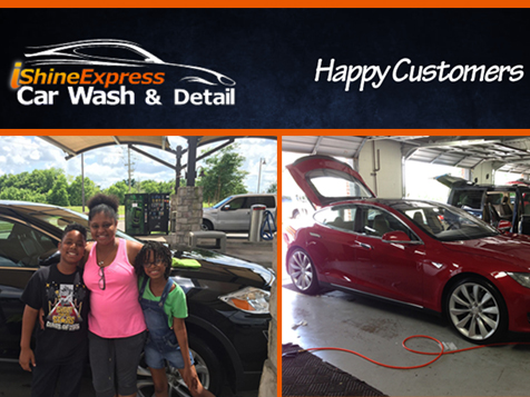 iShine Express Car Wash & Detail happy customers