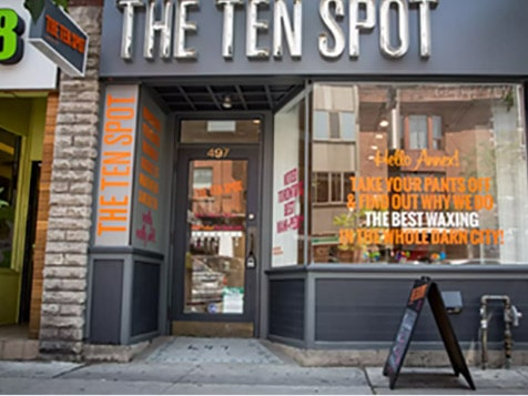 THE TEN SPOT Franchise Exterior