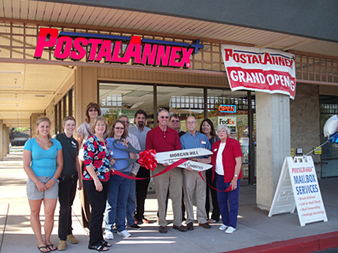 Grand Opening of a PostalAnnex+ Franchise