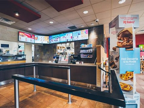 Dairy Queen Franchise Interior