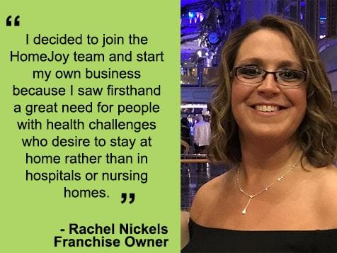 HomeJoy Franchisee Rachel Nickels
