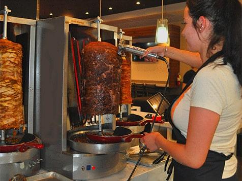 Verve Taco - carving station
