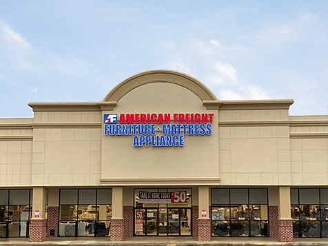 American Freight Franchise Exterior