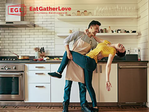 Help Customers Re-imagine their Kitchen with EatGatherLove