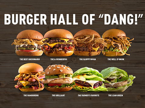 "Burger Hall of ""Dang"" - MOOYAH Burgers, Fries & Shakes"