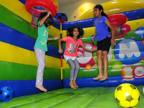 Happy Kids at a Jump!Zone Franchise