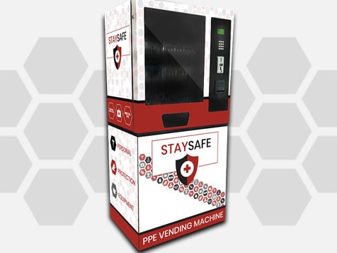 Sleek Stay Safe Vending Machine