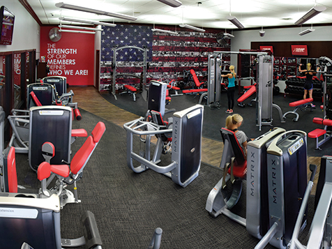 Snap Fitness Franchise Layout
