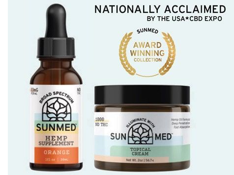 Your CBD Store Franchise Nationally Acclaimed SunMed Products