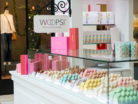 Woops! Macaron Franchise Kiosk in mall