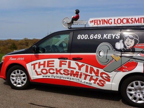 The Flying Locksmiths Franchise Vehicle