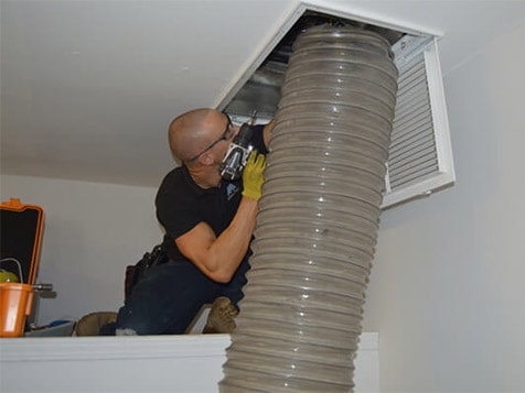 Action Duct Cleaning Franchise - residential duct inspection
