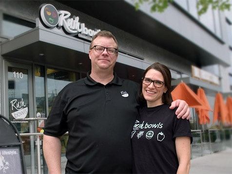 Rush Bowls Franchise Owners - The Moroneys, St. Louis