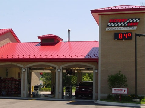 A Victory Lane Quick Oil Change Franchise Location