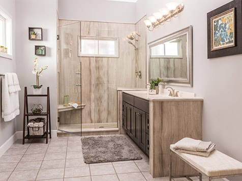 Work by the Re-Bath Bathroom Remodeling Franchise