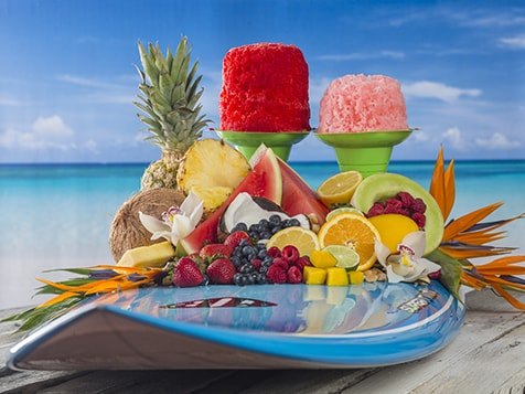 Hokulia Shave Ice Business Surfboard