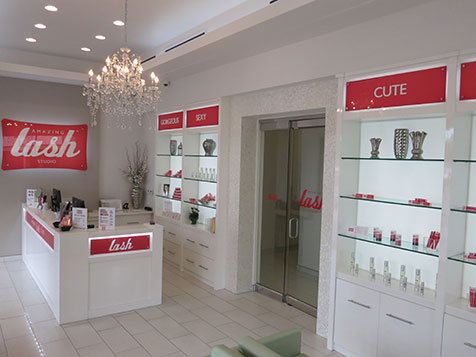 Amazing Lash Studio - PA Franchise Interior