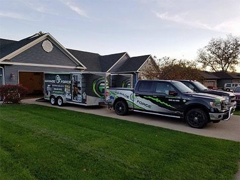 Garage Force Franchise Vehicle Wrap