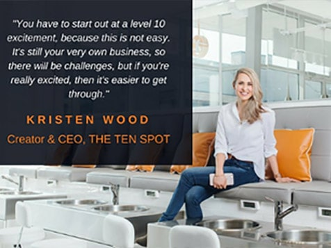 THE TEN SPOT Franchise - Kristen Wood