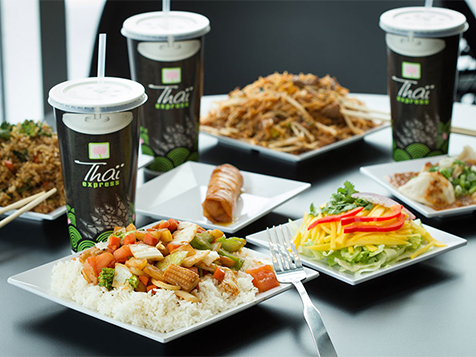 Thai Express Franchise Menu Items