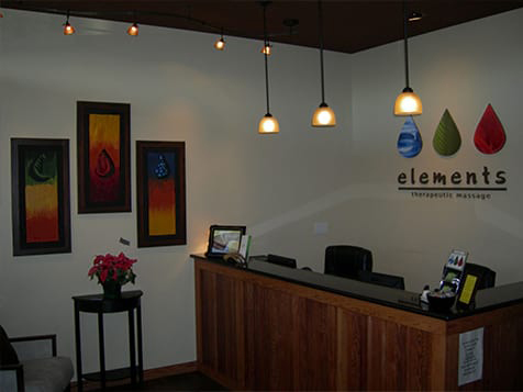 Elements Therapeutic Massage Franchise Interior