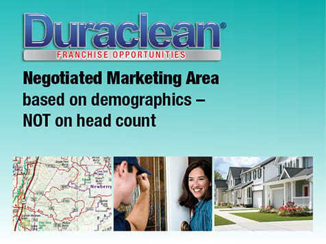 Duraclean Franchise Marketing Area