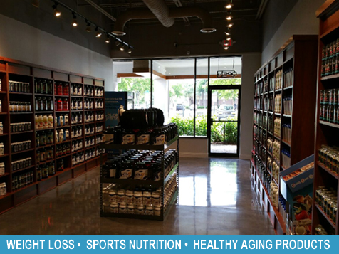 Inside a Total Nutrition Superstores® Franchise