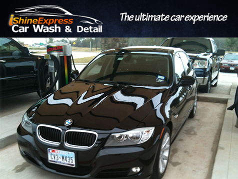 Give customers the ultimate car experience with iShine Express Car Wash & Detail
