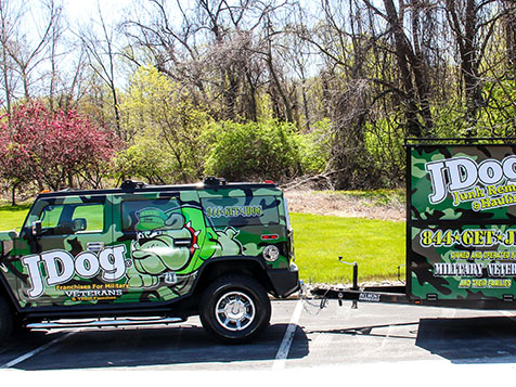 JDOG Junk Removal and Hauling franchise