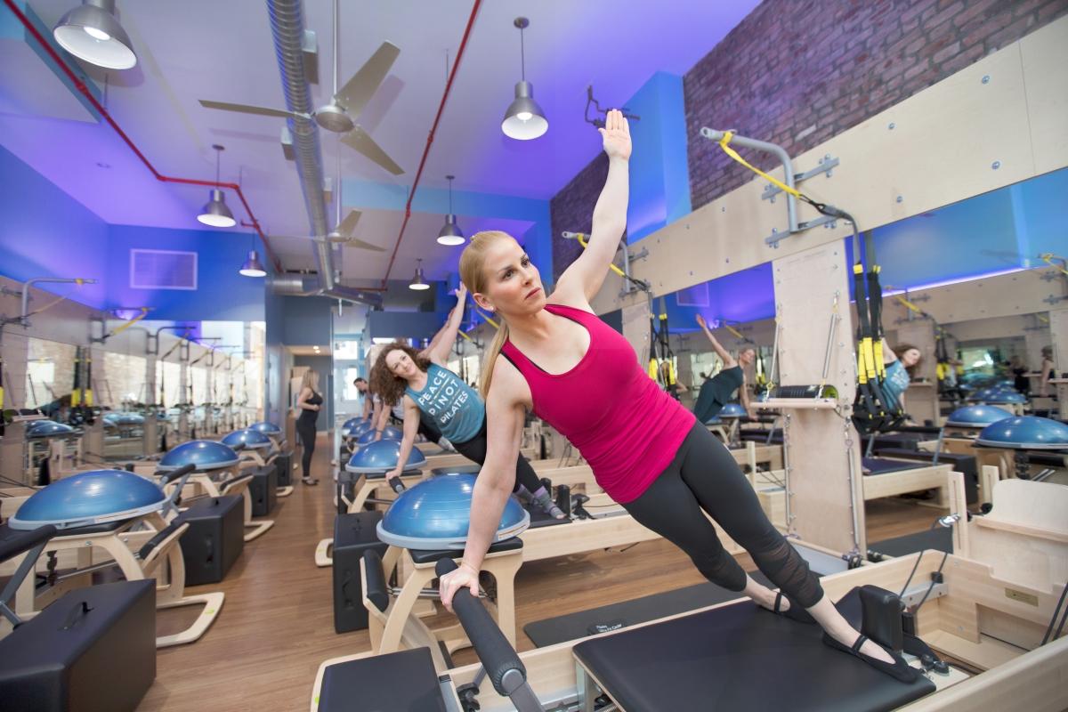 Pilates Class Gym Franchise