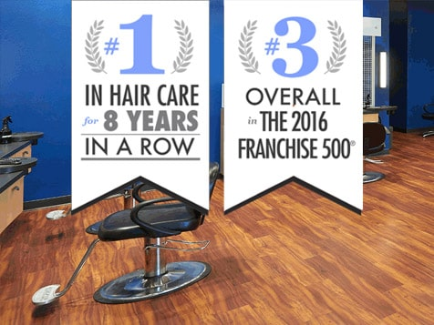 Supercuts Franchise Ranked #1 hair salon