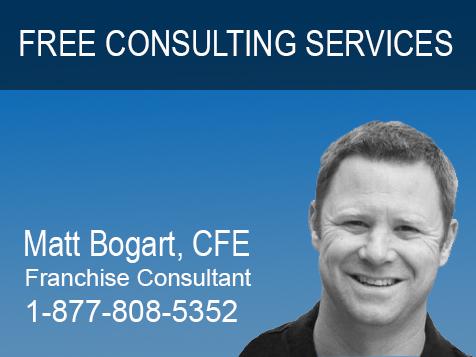 Personal Free Franchise Consultant, Matt Bogart