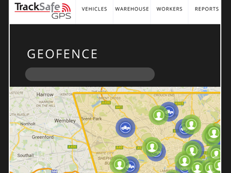 TrackSafe GPS Franchise Geofence