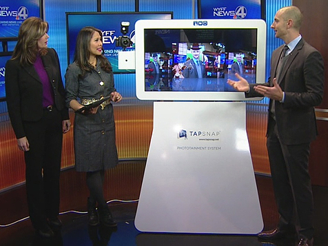 TapSnap Photo Booth Franchise on the News