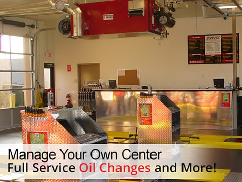 Own a Victory Lane Quick Oil Change Franchise