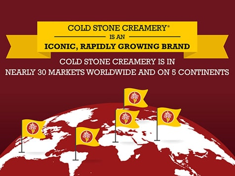 Cold Stone Creamery Franchise - worldwide