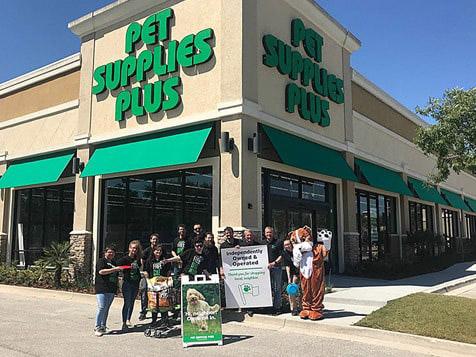 Outside a Pet Supplies Plus Franchise